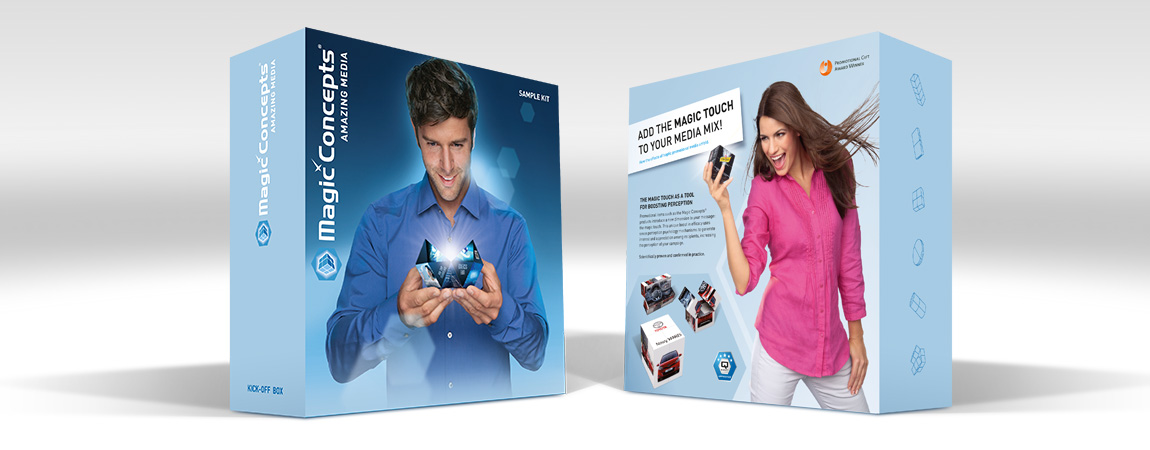 Magic Concepts (Corporate Design und Werbung): Musterbox