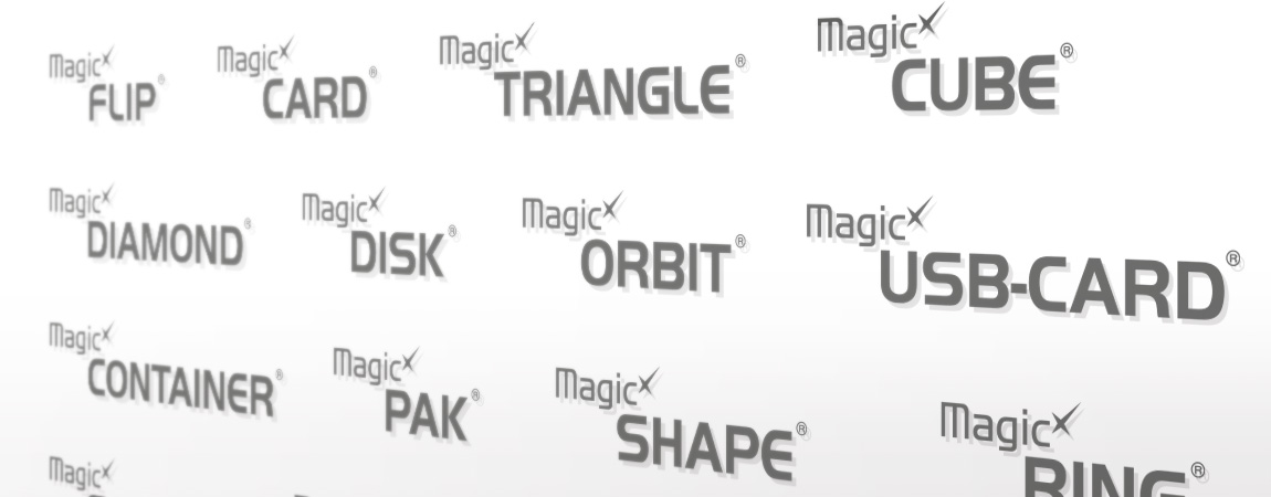 Magic Concepts (Corporate Design und Werbung): Produktlogos