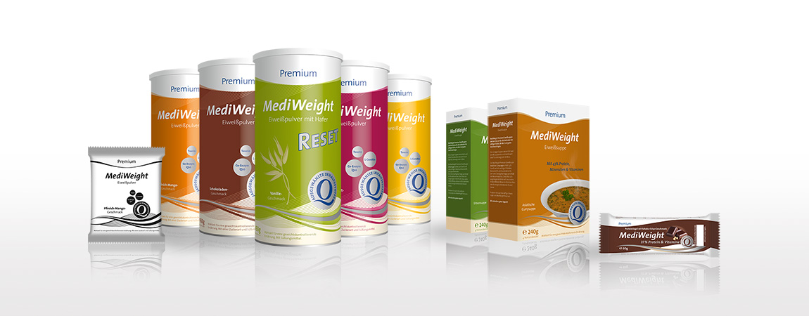 MediWeight (Corporate Design und Packaging): Packaging