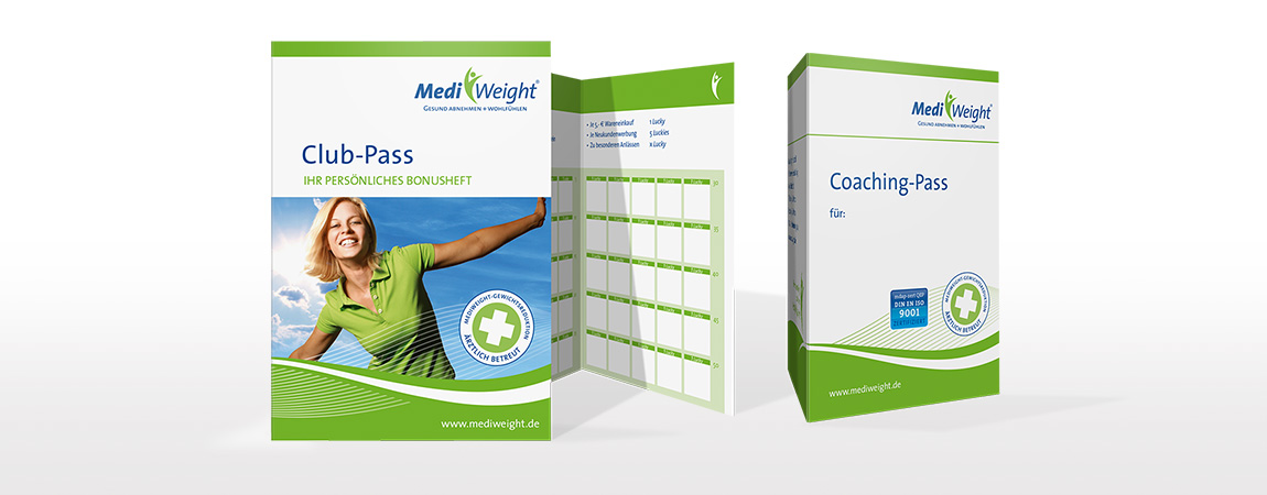 MediWeight (Corporate Design und Packaging): Coaching Pass