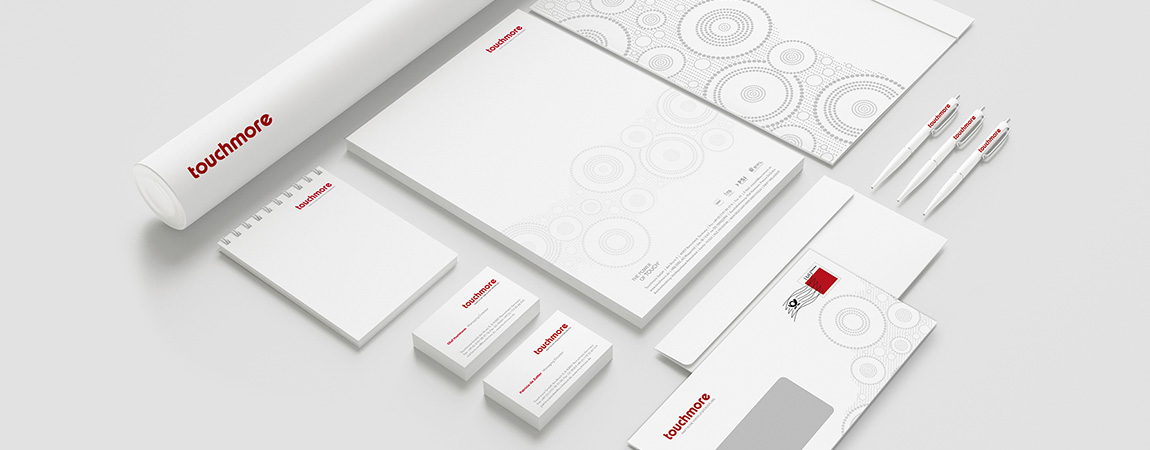 touchmore (Corporate Design): Geschaeftsdrucksachen