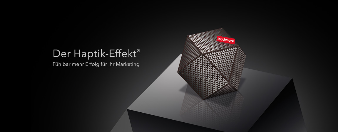 touchmore (Corporate Design): Der Haptik Effekt