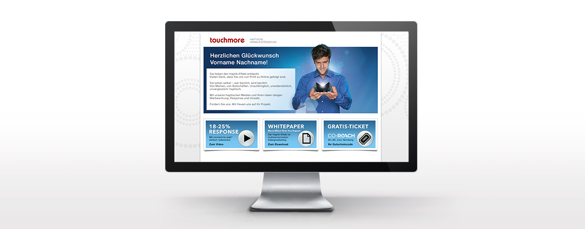 touchmore (Dialogmarketing): Ctw Landingpage