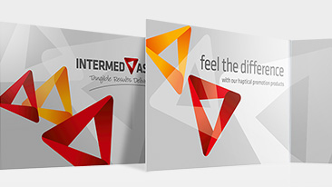 Intermed Asia: Corporate Design und Werbung